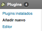 Añadir nuevo plugin